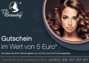 only Beauty Gutschein