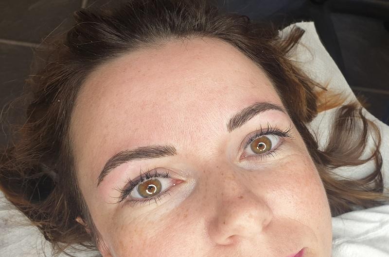 Permanet Makeup Augenbrauen nachher