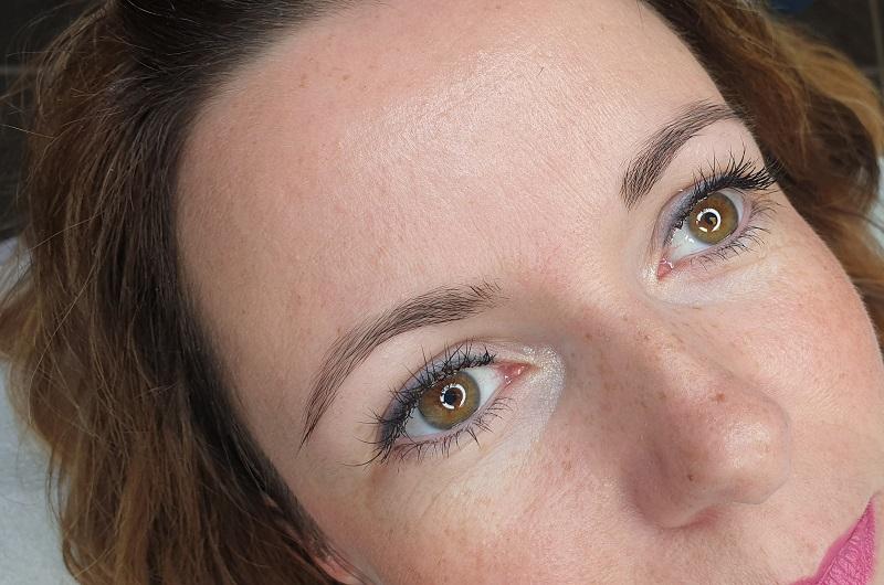 Permanet Makeup Augenbrauen vorher